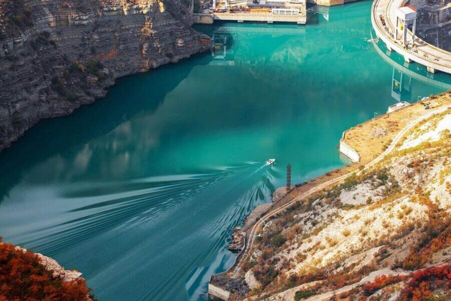 Чиркейская ГЭС зубутли