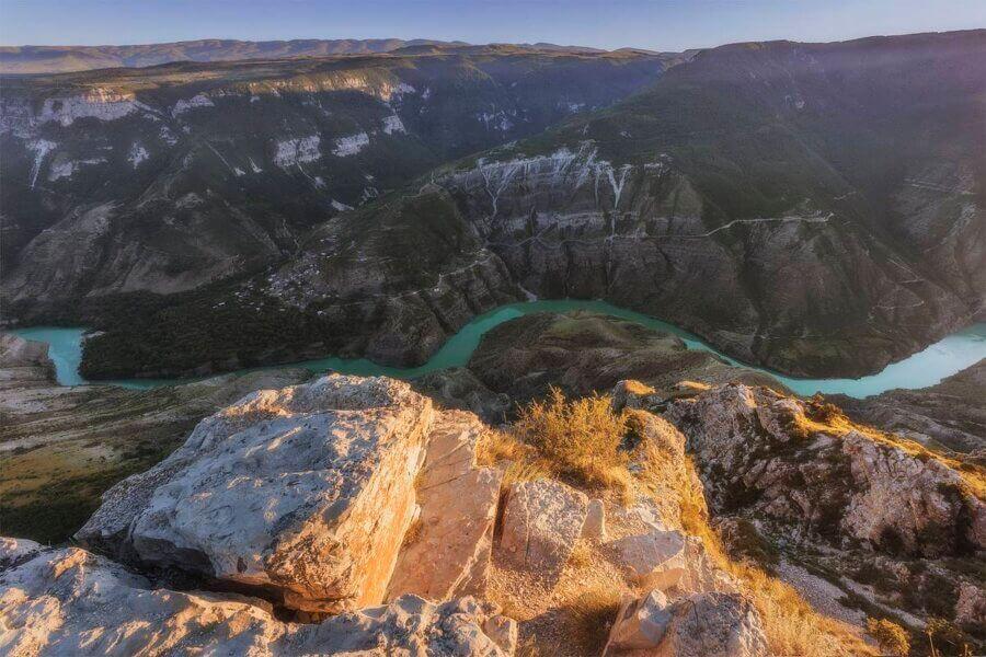 сулакский каньон с высотыысоты